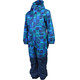 Color Kids Klement Padded Coverall Kids Deep Lagoon